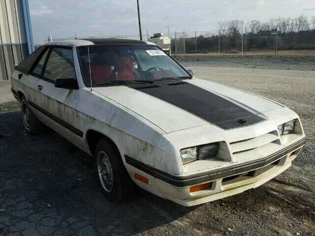 1987 PLYMOUTH HORIZON TURISMO, 1P3BM44C4HD608035