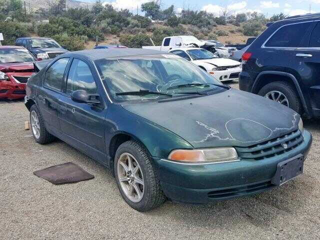 1998 PLYMOUTH BREEZE BASE, 1P3EJ46X8WN328728