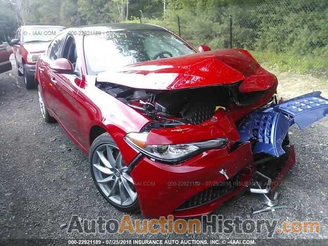 Alfa Auto Insurance >> Zarfaedn2h7555003 Alfa Romeo Giulia View History And Price