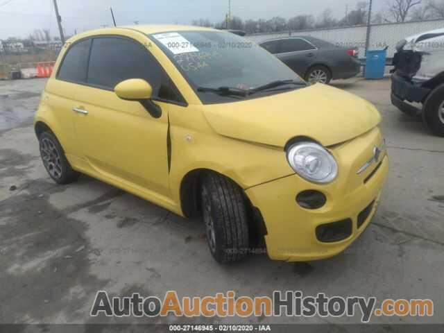 FIAT 500 SPORT, 3C3CFFBR2ET229417